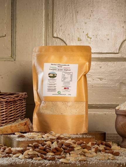 Farine d'Amandes de Sicile | La Gourdinerie