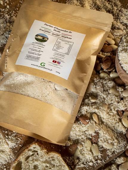 Farine d'Amandes de Sicile   La Gourdinerie