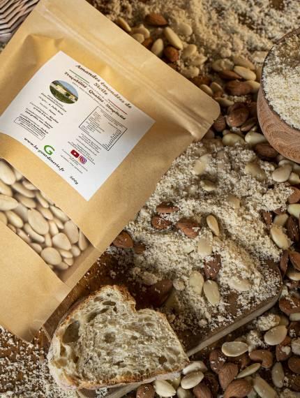 Amandes émondées de Sicile | La Gourdinerie